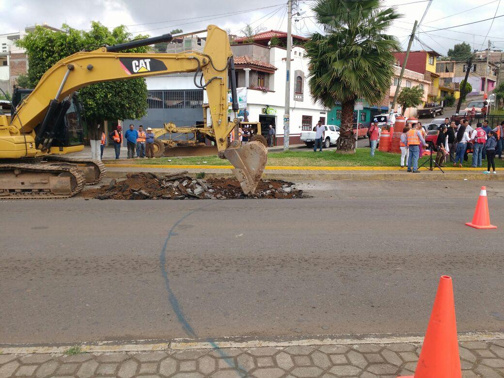 CONSTRUCCION DE GLORIETA EN LIBRAMIENTO SUR DE TACAMBARO