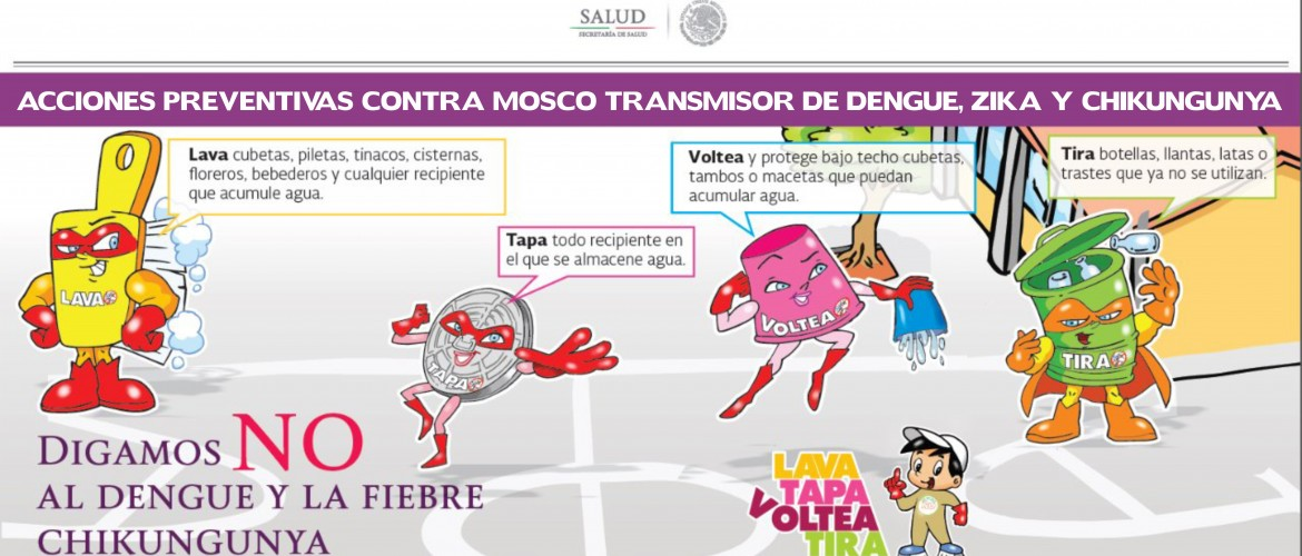 Acciones Preventivas Contra Mosco Zika
