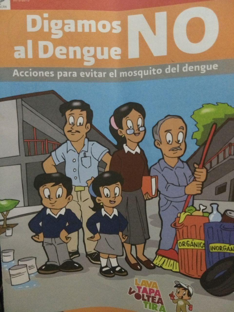 PERSONAL DE VECTORES CONTINÚA TRABAJANDO EN EL MUNICIPIO