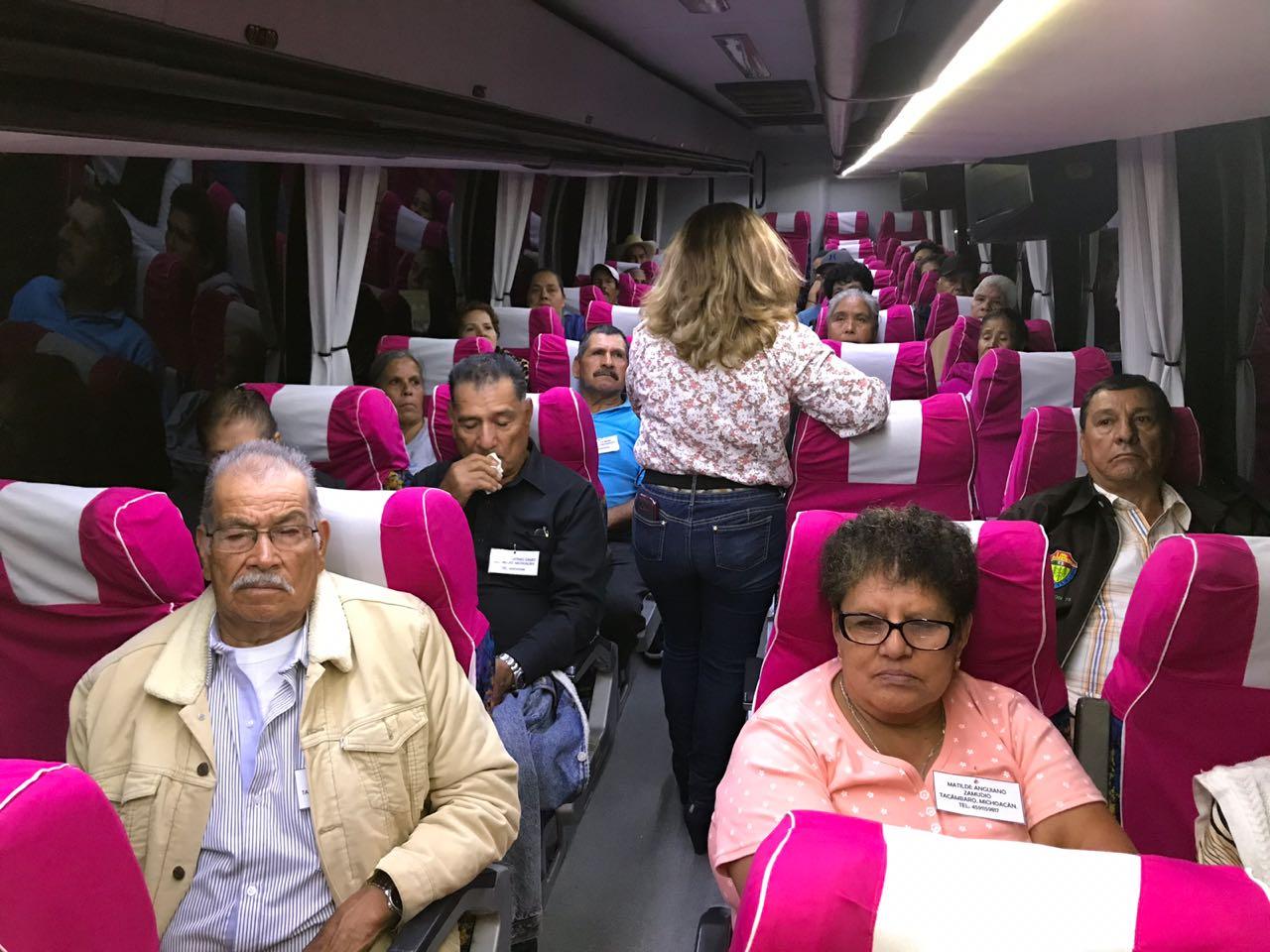 PROGRAMA PALOMAS MENSAJERAS OBTIENE 45 VISAS PARA BENEFICIADOS