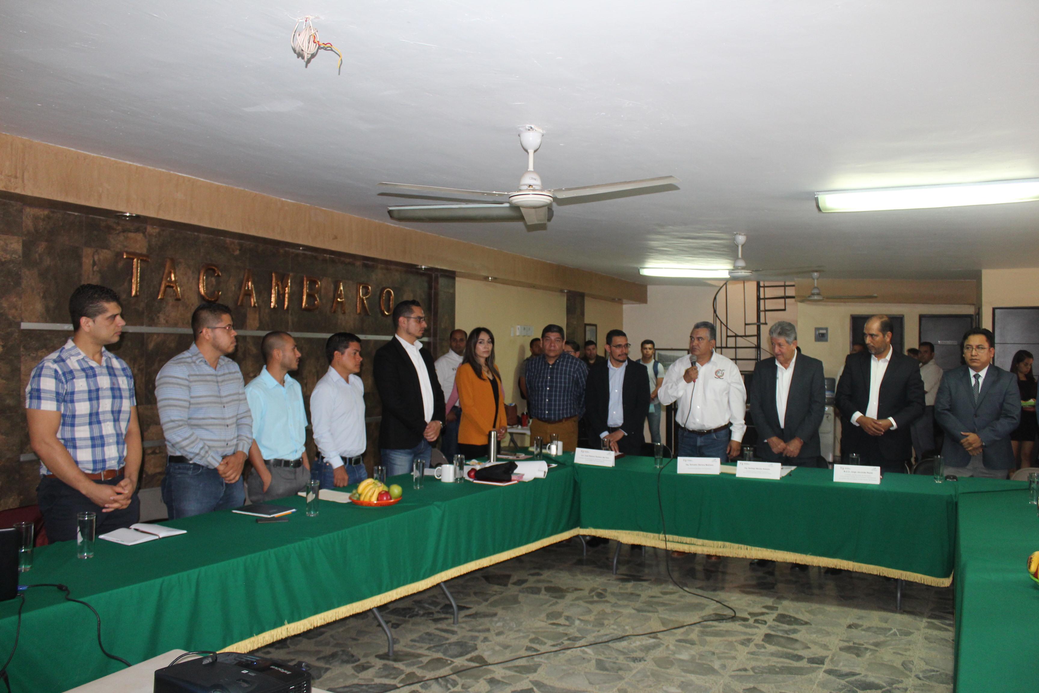 Salvador Barrera pone en marcha Reunión de Contralores, Región VIII Tierra Caliente.