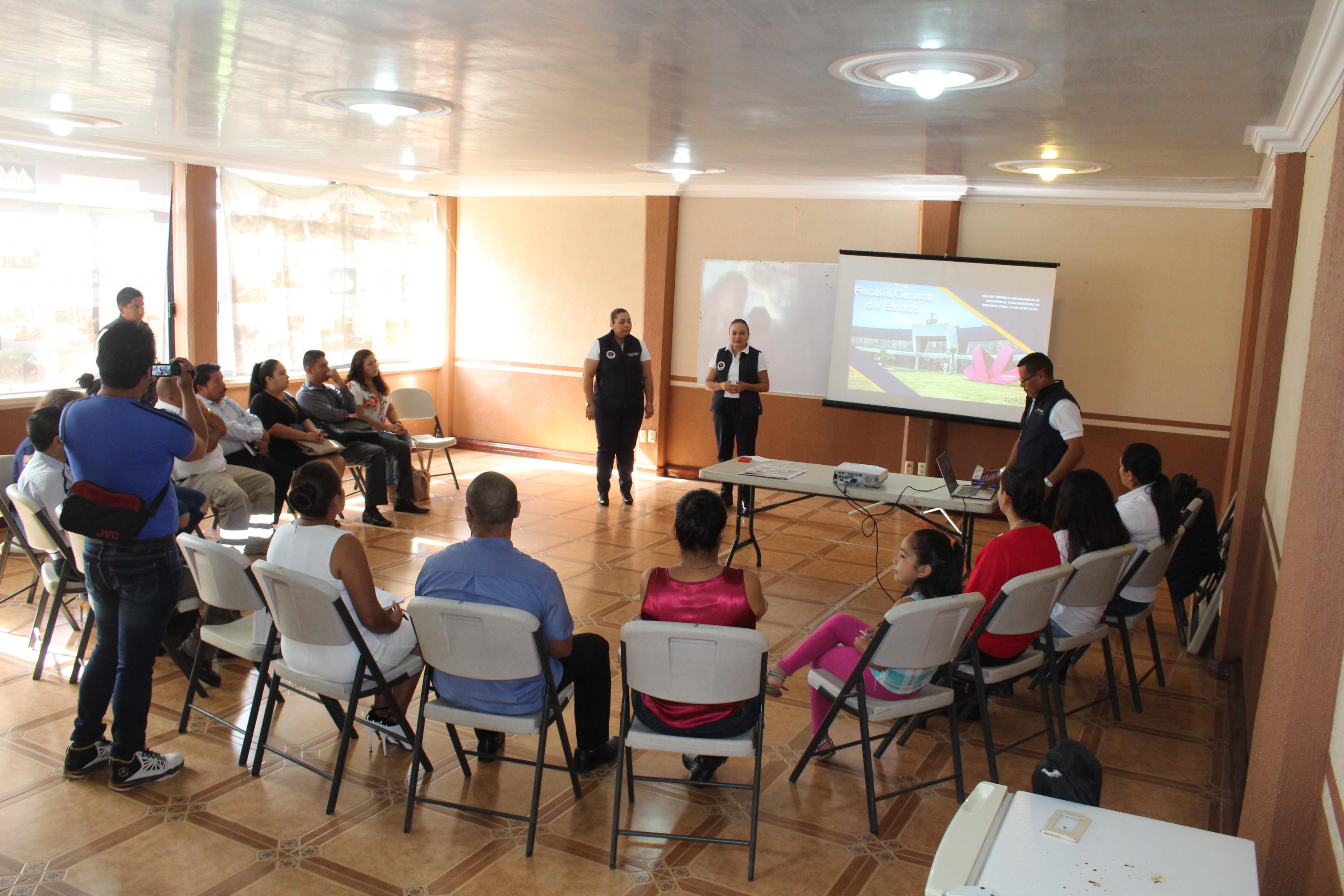 Dependencias del Ayuntamiento de Tacámbaro son capacitadas sobre Mecanismos Alternativos de Solución de Controversia.