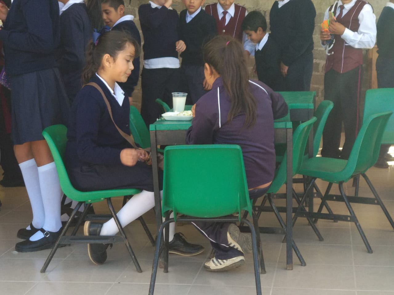 LA INSTALACIÓN DEL DESAYUNADOR VIENE A TERMINAR DE DIGNIFICAR LA EDUCACIÓN DE LOS HABITANTES DE COPÍTERO: CHAVA BARRERA.