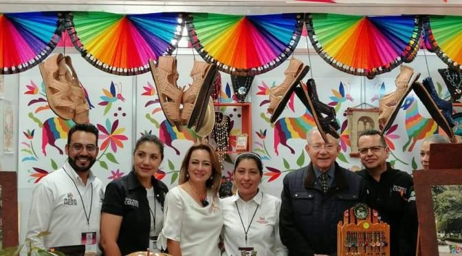 En 1er Tianguis de Pueblos Mágicos en Pachuca Hidalgo, Tacámbaro vende 80% de sus productos.