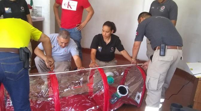 """<h2><span style=""""color: #ffcc00;""""> Ayuntamiento de Tacámbaro adquiere cápsula para el traslado de pacientes con COVID-19. </span></h2>"""