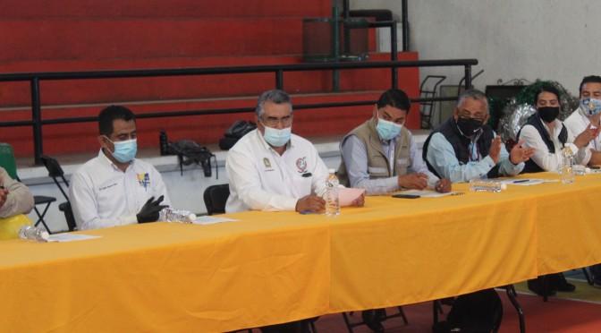 """<h2><span style=""""color: #ffcc00;"""">Directores del Ayuntamiento y Jefes de Tenencia son capacitados en prevención de COVID, Dengue e Influenza.</span></h2>"""