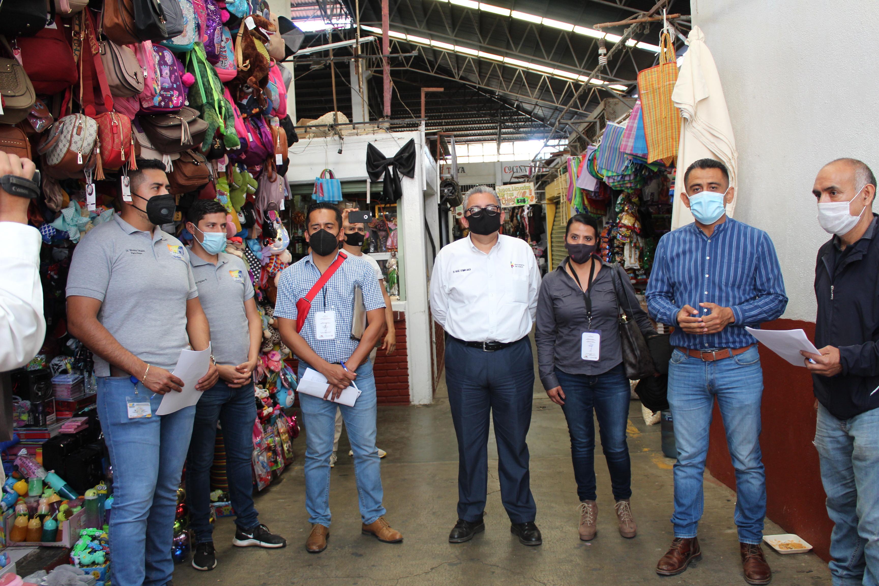 """<h2><span style=""""color: #ffcc00;"""">Mercado José María Morelos inicia proceso de certificación como Promotor de la Salud.</span></h2>"""