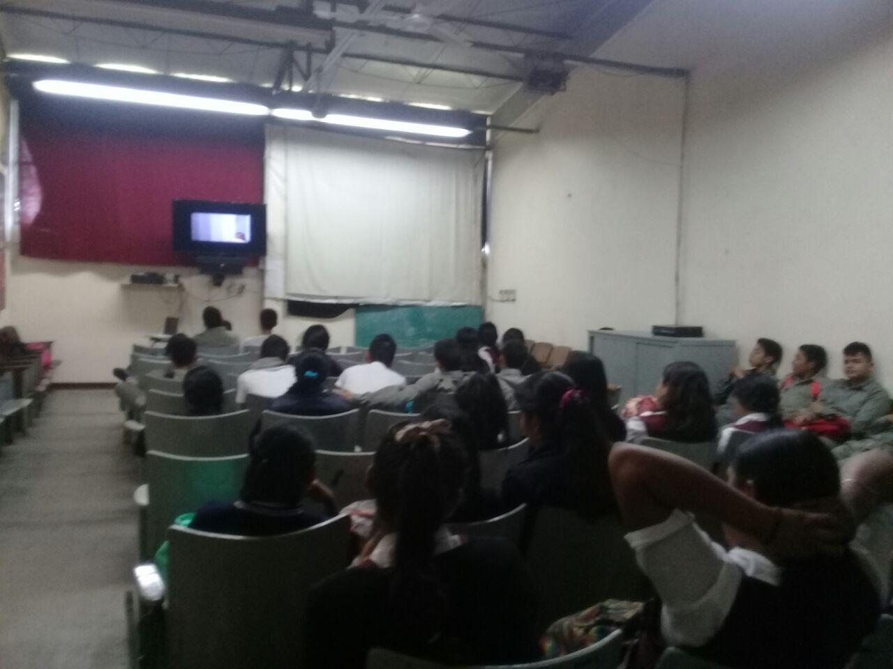 INSTITUTO DE LA MUJER IMPARTE PLÁTICAS EN ESCUELAS