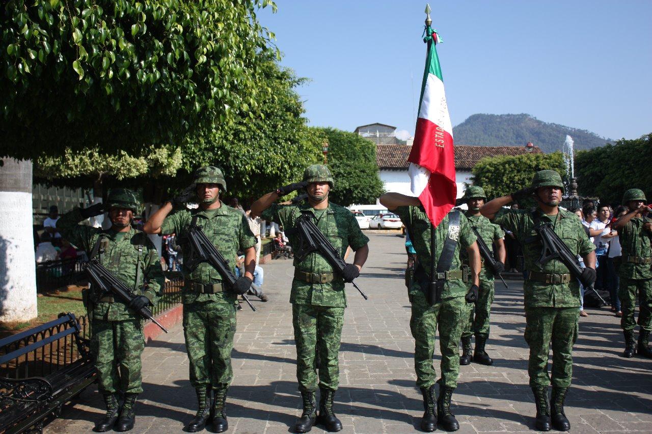 197 ANIVERSARIO DE LA BANDERA DE MÉXICO.